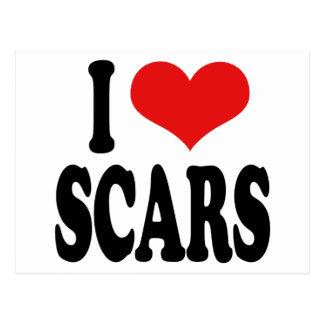 Amo cicatrices postal