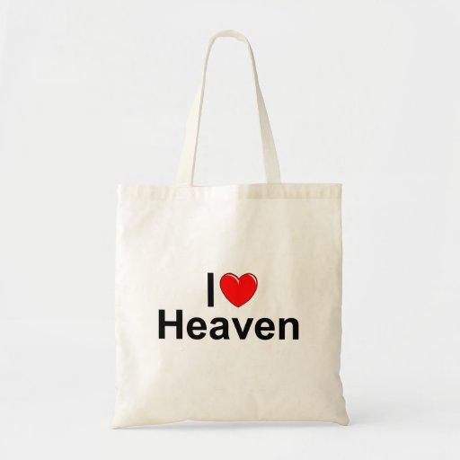 Amo cielo (del corazón) bolsa