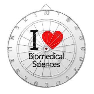 Amo ciencia biomédica tablero de dardos