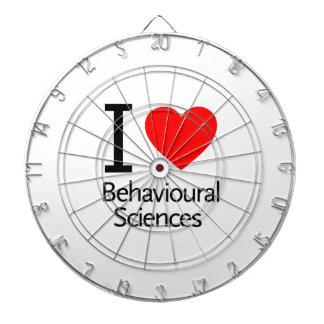 Amo ciencia del comportamiento tabla dardos