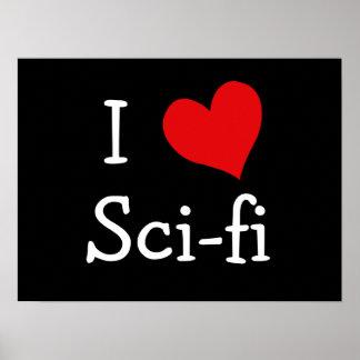 Amo ciencia ficción impresiones
