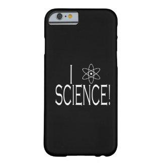 Amo ciencia funda de iPhone 6 barely there