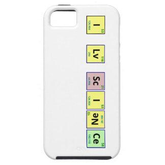 Amo ciencia iPhone 5 Case-Mate funda