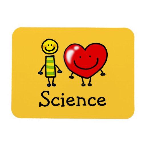 amo ciencia iman rectangular