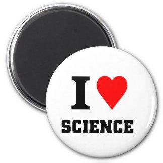 Amo ciencia imán redondo 5 cm