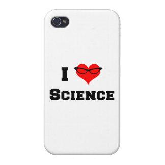 Amo ciencia iPhone 4/4S carcasa