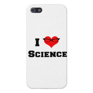 Amo ciencia iPhone 5 fundas