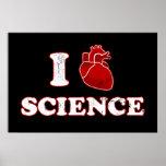 amo ciencia/la anatomía del corazón de la ciencia/ impresiones