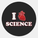 amo ciencia/la anatomía del corazón de la ciencia/ etiqueta