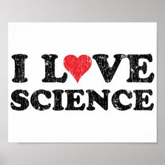 Amo ciencia póster