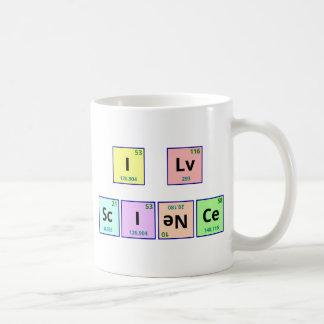 Amo ciencia taza