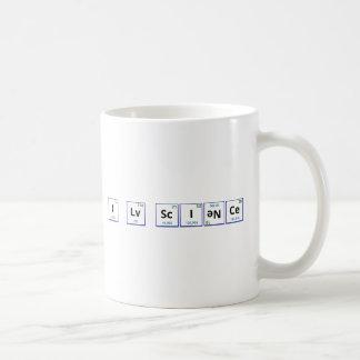 Amo ciencia taza de café
