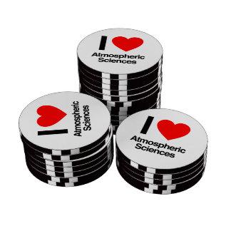 amo ciencias atmosféricas juego de fichas de póquer