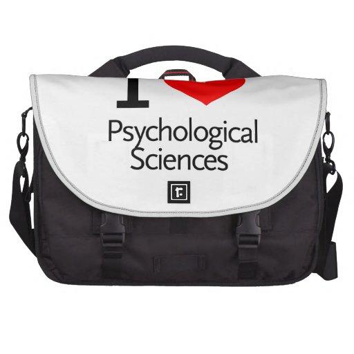 Amo ciencias fisiológicas bolsas de portátil