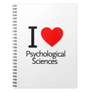 Amo ciencias fisiológicas cuaderno