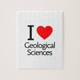 Amo ciencias geológicas puzzles con fotos