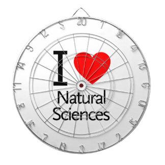 Amo ciencias naturales tablero dardos