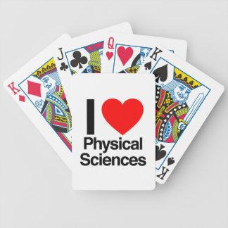 amo ciencias physcical baraja de cartas