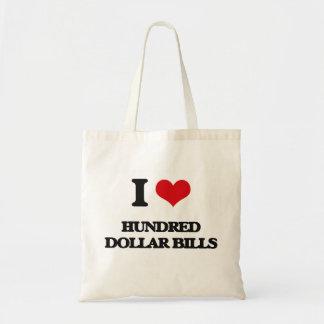 Amo cientos billetes de dólar bolsa
