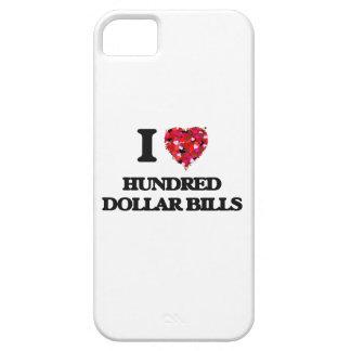 Amo cientos billetes de dólar iPhone 5 funda