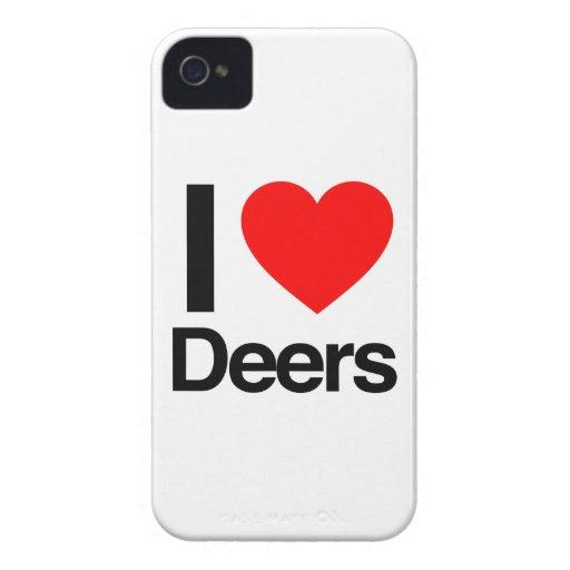 amo ciervos iPhone 4 protector