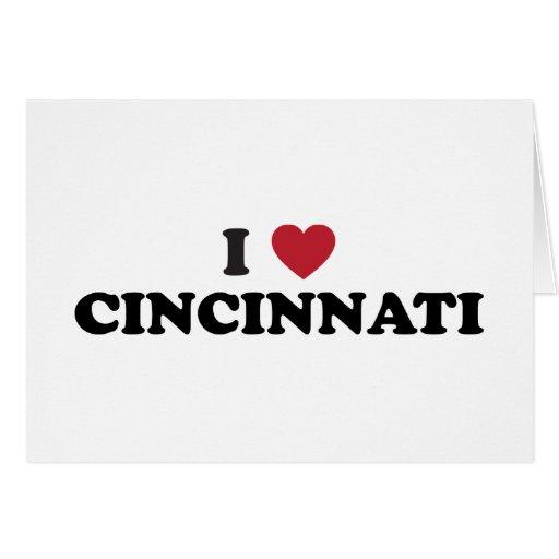 Amo Cincinnati Ohio Tarjetas