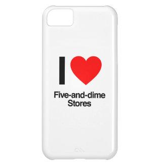 amo cinco y tiendas de moneda de diez centavos funda para iPhone 5C