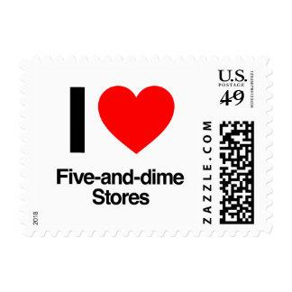 amo cinco y tiendas de moneda de diez centavos envio