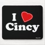 Amo Cincy Alfombrillas De Ratones