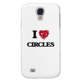 Amo círculos funda para galaxy s4
