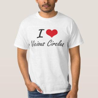Amo círculos viciosos camisas