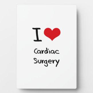 Amo cirugía cardiaca placa para mostrar