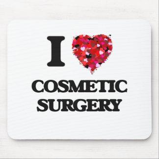 Amo cirugía cosmética alfombrilla de ratones