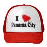 Amo ciudad de Panamá Gorros