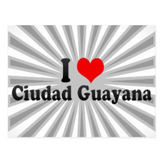 Amo Ciudad Guayana, Venezuela Tarjetas Postales