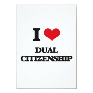 """Amo ciudadanía dual invitación 5"""" x 7"""""""