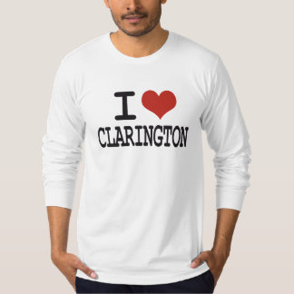Amo Clarington Playera