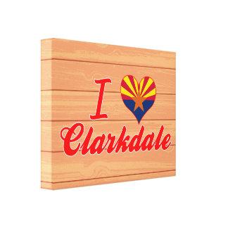 Amo Clarkdale, Arizona Lona Envuelta Para Galerías