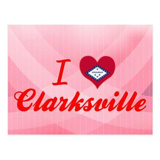 Amo Clarksville, Arkansas Tarjeta Postal