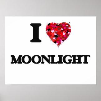 Amo claro de luna póster