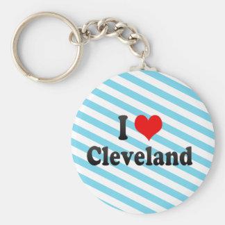 Amo Cleveland, Estados Unidos Llavero Personalizado