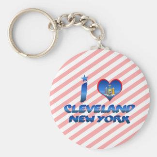 Amo Cleveland, Nueva York Llavero