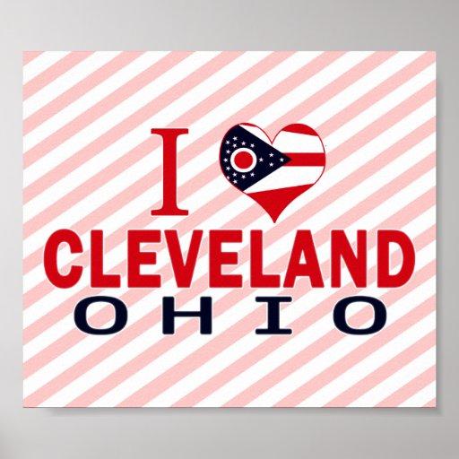 Amo Cleveland, Ohio Impresiones
