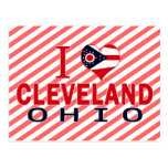 Amo Cleveland, Ohio Tarjetas Postales