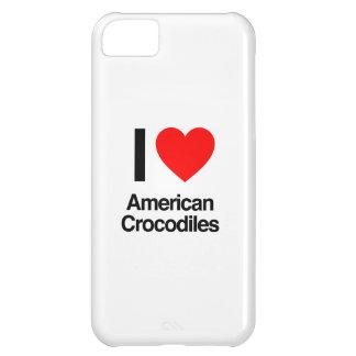 amo cocodrilos americanos funda para iPhone 5C
