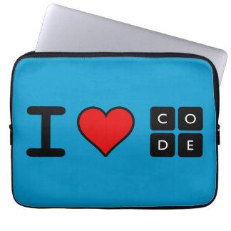Amo código funda computadora