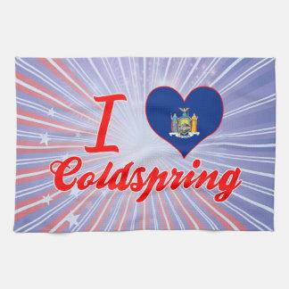 Amo Coldspring, Nueva York Toallas De Mano