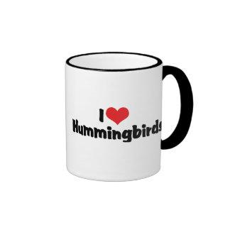 Amo colibríes tazas