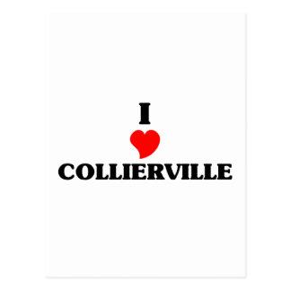 Amo Collierville Tarjetas Postales