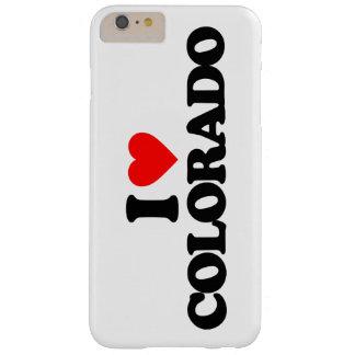 AMO COLORADO FUNDA DE iPhone 6 PLUS BARELY THERE